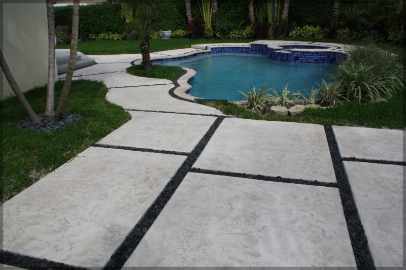 stamped concrete miami